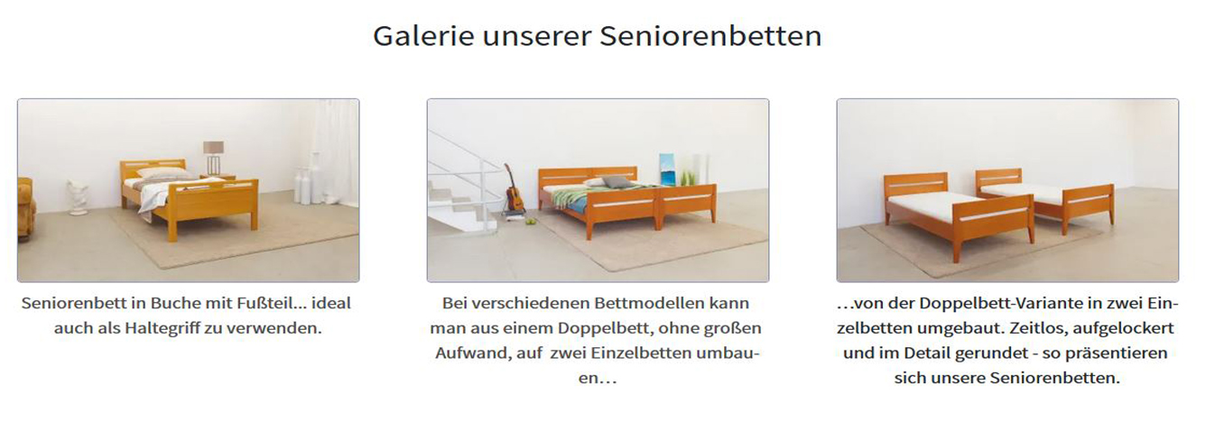 Seniorenbett in Ronneburg
